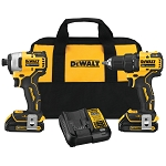 Dewalt DCK278C2 ATOMIC 20V MAX* BRUSHLESS CORDLESS 2-TOOL COMBO KIT