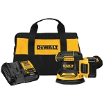 Dewalt  DCW210P1 20V MAX* XR® 5 in. Cordless Random Orbital Sander Kit (5.0Ah Battery)