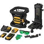 Dewalt DW080LGS 20V MAX* TOOL CONNECT™ GREEN TOUGH ROTARY LASER