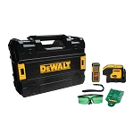Dewalt DW0839CG GREEN 3 SPOT LASER & 100 FT. LASER DISTANCE MEASURER
