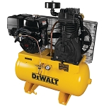 Dewalt DXCMH1393075 30 GALLON TWO STAGE GAS POWERED TRUCK MOUNT AIR COMPRESSOR