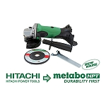 Hitachi / Metabo G18DSLQ4 18V Lithium Ion 4-1/2
