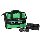 Hitachi / Metabo HPT DS18DBFL2S 18V Lithium Ion Brushless Driver Drill with 1 Battery