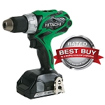 Hitachi / Metabo HPT DS18DSAL 18V Lithium Ion Compact Pro Driver Drill with Flashlight (1.5Ah)