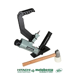 "Hitachi / Metabo N5010AB 2"" 15.5-Gauge 1/2"" Crown Flooring Stapler"