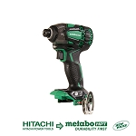 Hitachi / Metabo WH18DBDL2Q4 18V Lithium Ion Brushless Triple Hammer Impact Driver