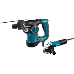 Makita HR2811FX 1-1/8'' Rotary Hammer, accepts SDS-PLUS bits and 4-1/2