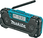 Makita RM02 12V max CXT® Lithium-Ion Cordless Compact Job Site Radio, Tool Only