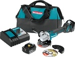 "Makita XAG04T 18V LXT® Lithium-Ion Brushless Cordless 4-1/2"" / 5"