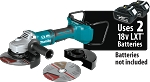 Makita XAG12Z1 18V X2 LXT® Lithium-Ion (36V) Brushless Cordless Cut-Off/Angle Grinder Tool Only