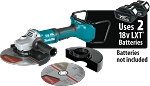Makita XAG13Z1 18V X2 LXT Lithium-Ion (36V) Brushless Cordless Cut-Off/Angle Grinder Tool Only