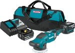 Makita XOP02T 18V LXT® Lithium-Ion Brushless Cordless Dual Action Random Orbit Polisher Kit (5.0Ah)