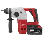"Milwaukee 0756-22 M28™ Cordless Lithium-Ion 1"" SDS-Plus Rotary Hammer Kit"