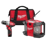 Milwaukee 2492-22 M12™ Cordless Lithium-Ion 2-Tool Combo Kit