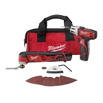 Milwaukee 2496-22 M12™ Cordless LITHIUM-ION 2-Tool Combo Kit