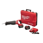Milwaukee 2721-22HD M18 FUEL™ SAWZALL® Reciprocating Saw w/ ONE-KEY™ HD 9.0 Kit