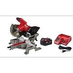 "Milwaukee 2733-21 M18 FUEL™ 7-1/4"" Dual Bevel Sliding Compound Miter Saw Kit"