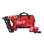 Milwaukee 2742-21CT M18 FUEL™ 16ga Angled Finish Nailer Kit