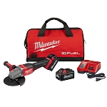 "Milwaukee 2980-22 M18 FUEL™ 4-1/2"" - 6"" Braking Grinder Kit, Paddle Switch No-Lock"