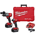 Milwaukee 2997-22 M18™ FUEL 2-Tool Combo Kit: Hammer Drill/Impact