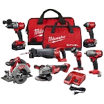 Milwaukee 2997-27 M18 FUEL™ 7 Tool Combo Kit