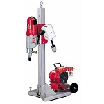 Milwaukee 4120-22 Diamond Coring Rig with Large Base Stand, Vac-U-Rig® Kit, Meter Box and Diamond Coring Motor