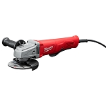 Milwaukee 6142-30 11 Amp Corded 4-1/2 in. Small Angle Grinder with Lock-On Paddle Switch