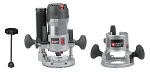 Porter Cable 895PK 2-1/4 HP Multi-Base Router Kit with Table Height Adjuster