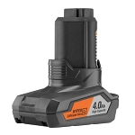 RIDGID AC82059 12V 4.0 Amp Hour Hyper Lithium-Ion Battery