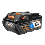 RIDGID AC8400806 OCTANE 18V 6.0Ah Bluetooth® Battery