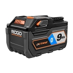 RIDGID AC8400809 OCTANE™ 18V 9.0Ah Bluetooth® Battery