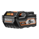 RIDGID AC840089 18V 5.0Ah High Capacity Battery