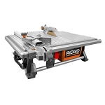 RIDGID R4021 7 in. Table Top Wet Tile Saw
