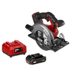 SKIL CR540602 20V 6-1/2'' Circular Saw Kit with PWRCore 20™ 2.0Ah Lithium Battery