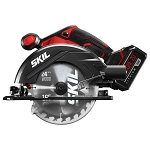SKIL CR540603 20V 6-1/2'' Circular Saw Kit with PWRCore 20™ 5.0Ah Lithium Battery