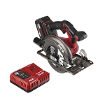 SKIL CR541302 PWRCore 20™ Brushless 20V 6-1/2'' Circular saw Kit with 4.0 Ah Lithium Battery and PWRJump™ Charger