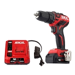 SKIL DL529002 PWRCore 12™ Brushless 12V 1/2'' Cordless Drill Driver Kit with PWRJUMP™ Charger