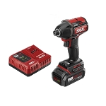 SKIL ID573902 PWRCore 20™ Brushless 20V 1/4'' Hex Impact Driver Kit with PWRJUMP™ Charger