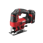 SKIL JS820302 20V 7/8'' Stroke Length Orbital Jigsaw Kit with PWRCore 20™ 2.0Ah Lithium Battery