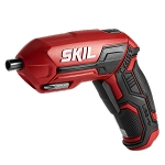 SKIL SD561802 Rechargeable 4V Screwdriver with Pivot Grip w/ Magnetic Bit Storage