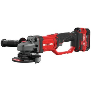 Craftsman CMCG400M1 V20* Cordless 4-1/2-in. Small Angle Grinder Kit (1 Battery)