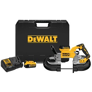 DEWALT DCS374P2 20V MAX* XR® BRUSHLESS DEEP CUT BAND SAW KIT