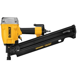 DEWALT DW325PL 21 DEGREE PLASTIC COLLATED FRAMING NAILER