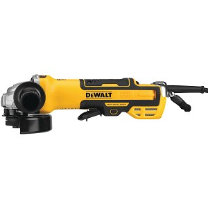 Dewalt DWE43214NVS 5 in. Brushless Paddle Switch Small Angle Grinder with Kickback Brake, No-Lock, Variable Speed