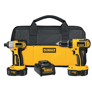 Dewalt DC720IA 18V CORDLESS COMPACT DRILL / IMPACT DRIVER COMBO KIT