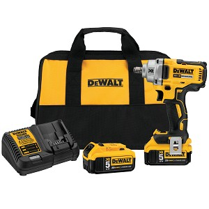 Dewalt DCF894HP2 20V MAX* XR® 1/2 IN. MID-RANGE CORDLESS IMPACT WRENCH WITH HOG RING ANVIL KIT