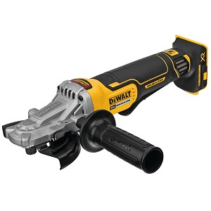 Dewalt DCG413FB 5 In. 20v Max* Xr® Flathead Paddle Switch Small Angle Grinder With Kickback Brake