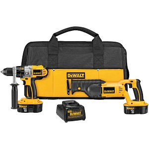 Dewalt DCK251X 18V CORDLESS XRP™ HAMMERDRILL / RECIPROCATING SAW COMBO KIT