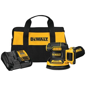 Dewalt  DCW210D1 20V MAX* XR® 5 in. Cordless Random Orbital Sander Kit (2.0Ah Battery)