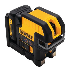 Dewalt DW0825LR 12V MAX* COMPATIBLE 5 SPOT + CROSS LINE RED LASER